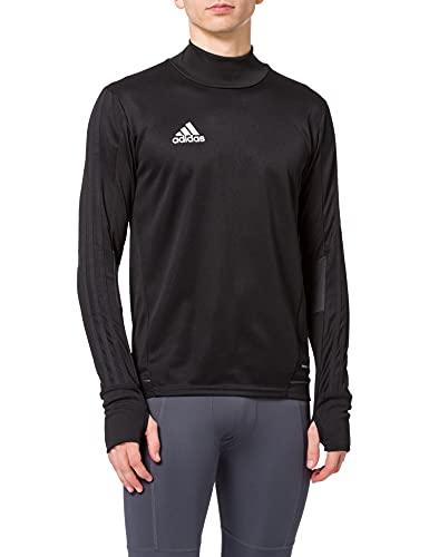 adidas Herren Tiro 17 Trainingsshirt, schwarz (Black/Dark Grey/White), XL