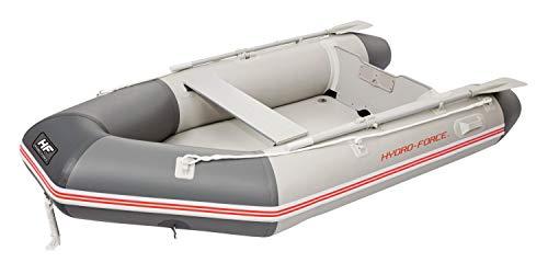 Bestway Hydro-Force Sportboot-Set Caspian Pro, für 3 Erwachsene und 1 Kind, 280 x 152 x 42 cm