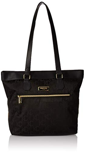 Kenneth Cole New York KC Street Women's Jacquard Top Zip 15' Laptop & Tablet Business Tote, Black