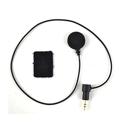 GUANGGUANG Heartwarming Shop Micrófono Fit para Vimoto V3 / V6 / V8 Bluetooth Intercom Casco Casco Auriculares (Color : Soft Microphone)