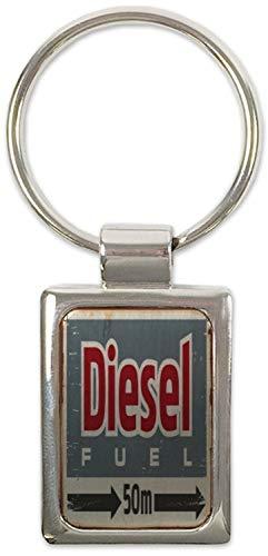 LEotiE SINCE 2004 Schlüsselanhänger Oldtimer Auto Diesel Bedruckt