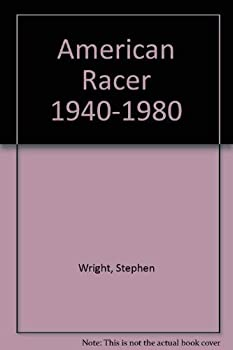 American racer, 1900-1940 0960367608 Book Cover