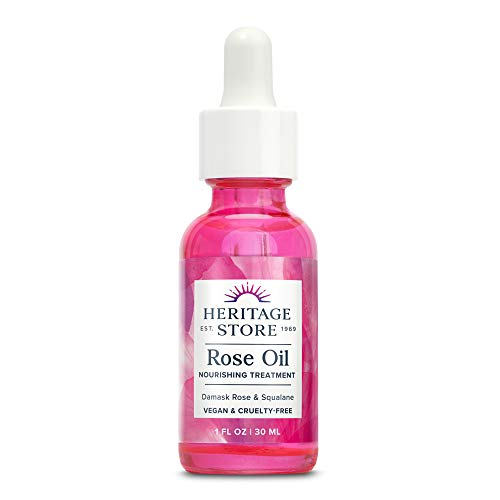 Heritage Store Rose Oil Nourishing Treatment   Hydrates for...