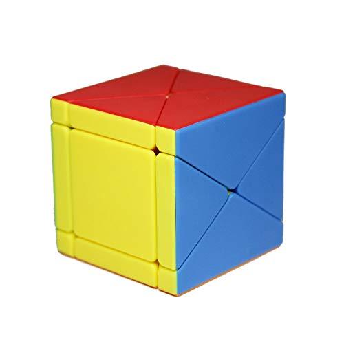 FunnyGoo MoYu MoFangJiaoShi Cubing Classroom MFJS 8 Ejes X Speed Cube Dino Skewb Magic Cube Smooth Puzzles Cube (stickerless)