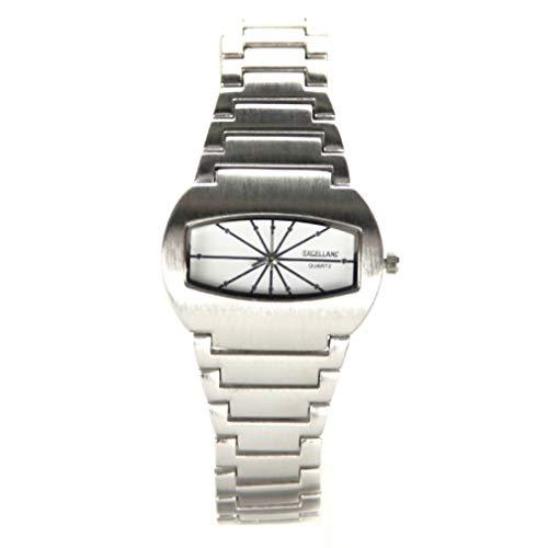 My-Watch herenhorloge, rechthoekig, stalen armband