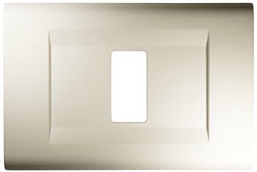 FEB Placca Click 1 Posto, Bianco