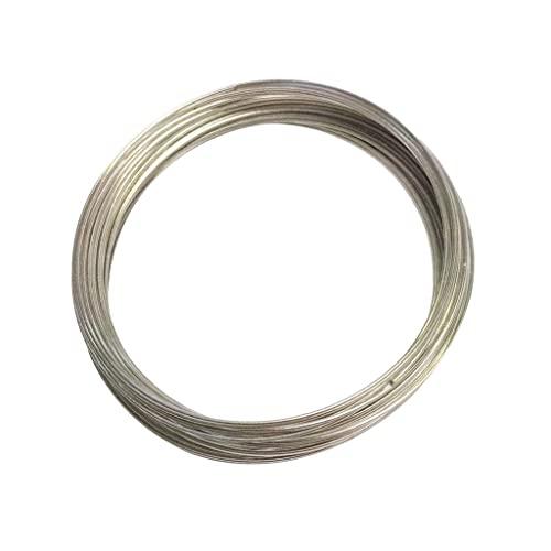 F Fityle Pulsera de Manguito Torcido Cable de Acero Ajustable Mujer/Hombre Joyería de Moda - 5.5 cm