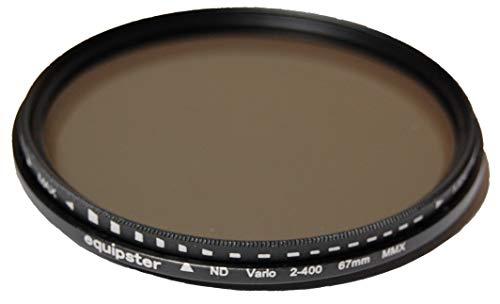 equipster variabler Graufilter / Neutraldichtefilter ND 2-400 für Fujifilm FUJINON XF 56mm f1.2 R APD