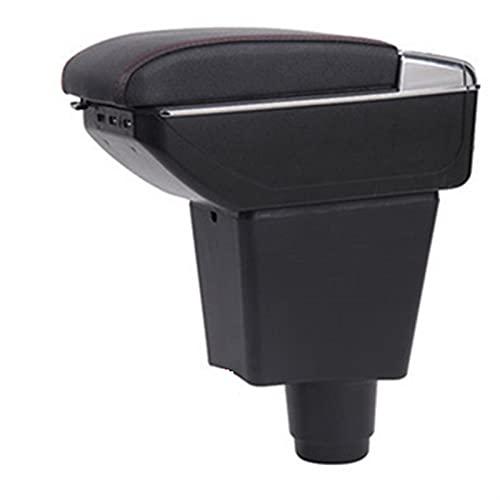 YHSM para D-acia para D-okker Caja De Reposabrazos Caja De Almacenamiento Central Accesorios De Automóvil Interior con U-SB