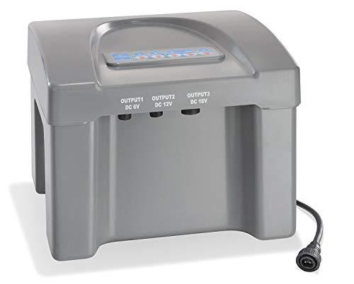 Akkubox 12V/24 Ah bis 100 Watt Solarmodulleistung für Solar Teichpumpen Pumpe Akku Batterie esotec 101810