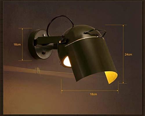ZXL Lampe Lampe, Plafonniers, Lustre, Creative Creative Light-Wall The Guards Personality Cafe Bar And Restaurant Les Lampes Décoratives En Fer Forgé, Applique Sonde de L'Allée,#1