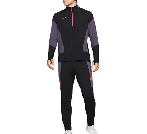 NIKE M NK Dry ACDMY FTBL Suit K MX Sweatpants, Black/Black/White/(White), Mens