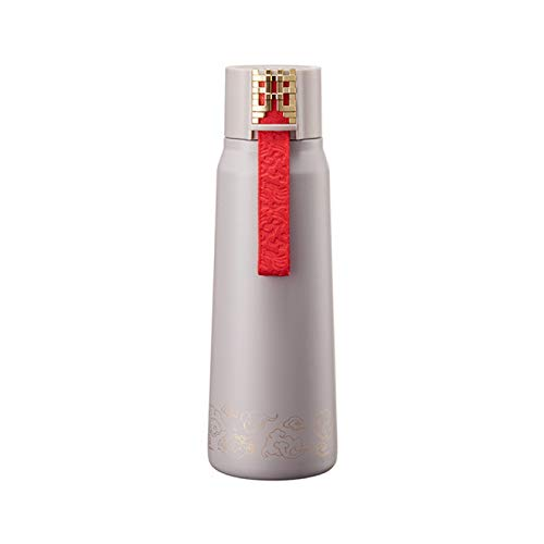 JJTXSQSMQM Thermos Bottle Cute Kettle 304 Stainless Steel Thermos Cup, Chinese Style Insulation Tumbler Coffee Cup, Thermos Cup, Thermos
