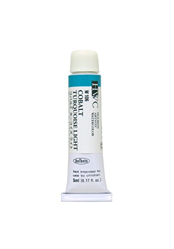 Holbein Artists Watercolor Cobalt Turquoise Light 5ml