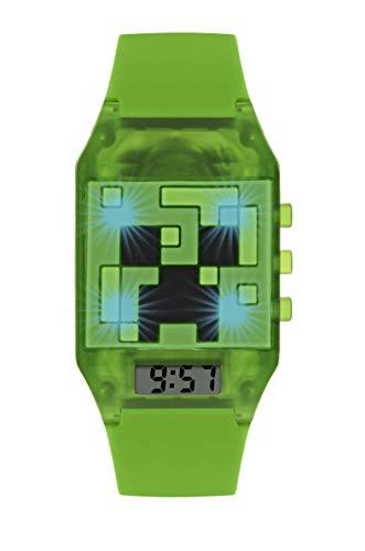 Minecraft Quarz Uhr mit Elastodien Armband MIN4014