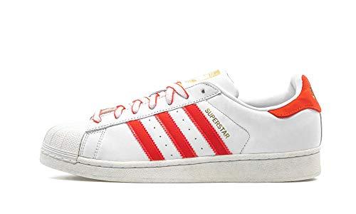 Adidas Superstar, Zapatillas de Deporte Hombre, Multicolor (Balcri/Rojsho/Escarl 000), 39 1/3 EU