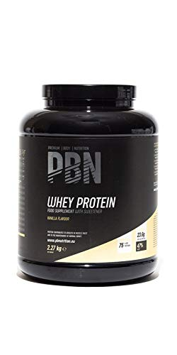 Premium Body Nutrition Whey Protein Powder Vanilla 2.27kg