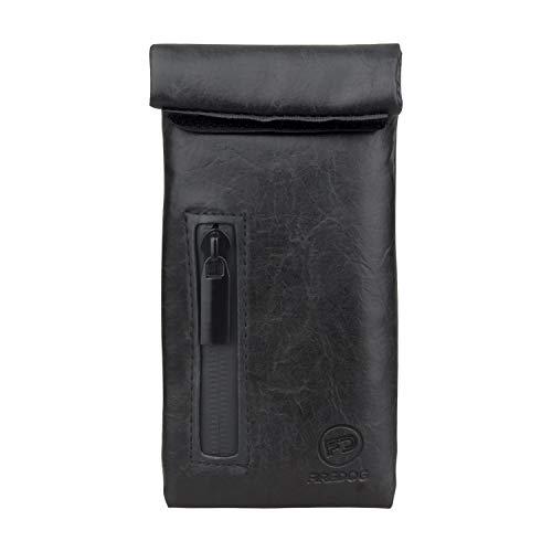 Firedog Geruchs-Beutel, mit Carbon-Futter, geruchsdichter Tasche für Hunde, 7,6 x 15,2 cm schwarz
