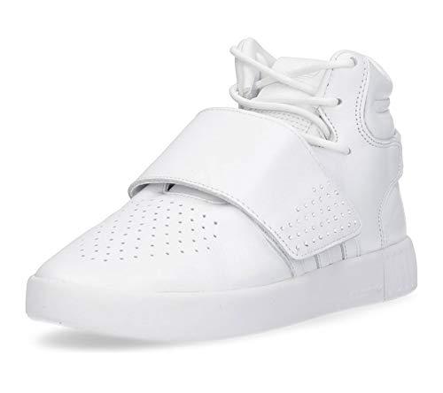 adidas Tubular Invader Strap, Chaussure de Piste d'athltisme Homme, Blanc Ftwbla, 37.5 EU