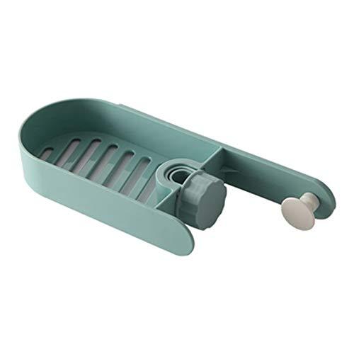 NYAOLE Halter für Küchenspüle, Spülenschwammhalter für Seife, Flasche, Bürstenlagerung, Grün