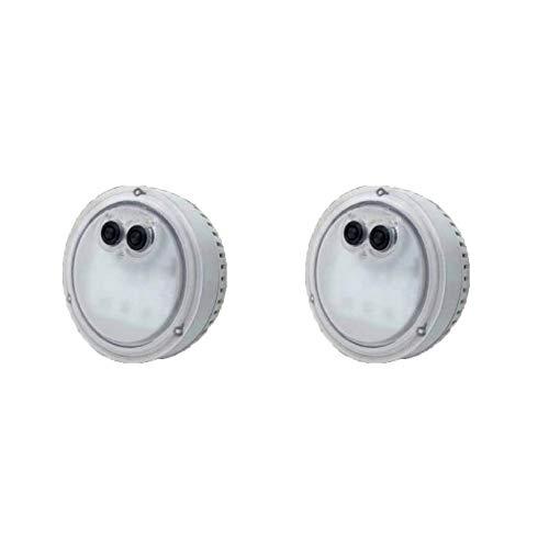Intex PureSpa LED-Licht für Bubble Spa Whirlpool, mehrfarbig, 2 Stück
