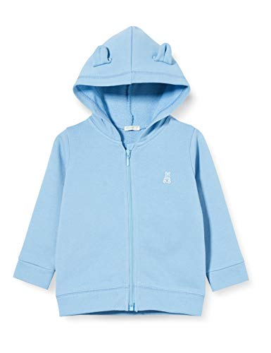 United Colors of Benetton Baby-Jongens Felpa Zip gebreide jas