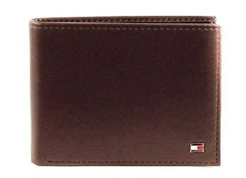 Tommy Hilfiger Herren ETON CC FLAP AND COIN POCKET Geldbörsen, Braun (Brown 041), 13x10x2 cm
