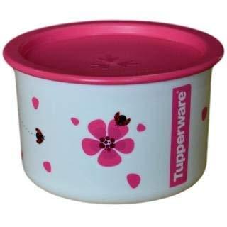 Tupperware One Touch - Bote de plástico (650 ml), color rosa