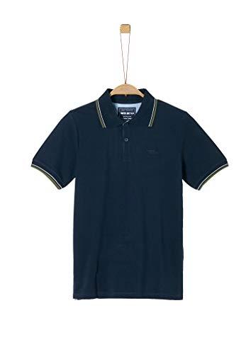 s.Oliver Junior 402.12.002.13.130.1278944 Polohemd, Jungen, Blau S REG
