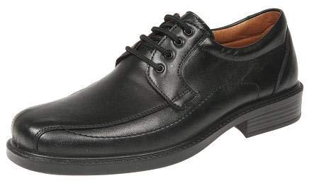 Zapatos de Trabajo para hostelería para Hombre LUISETTI Zapato Confort Step 0105 Talla 39 Color Negro