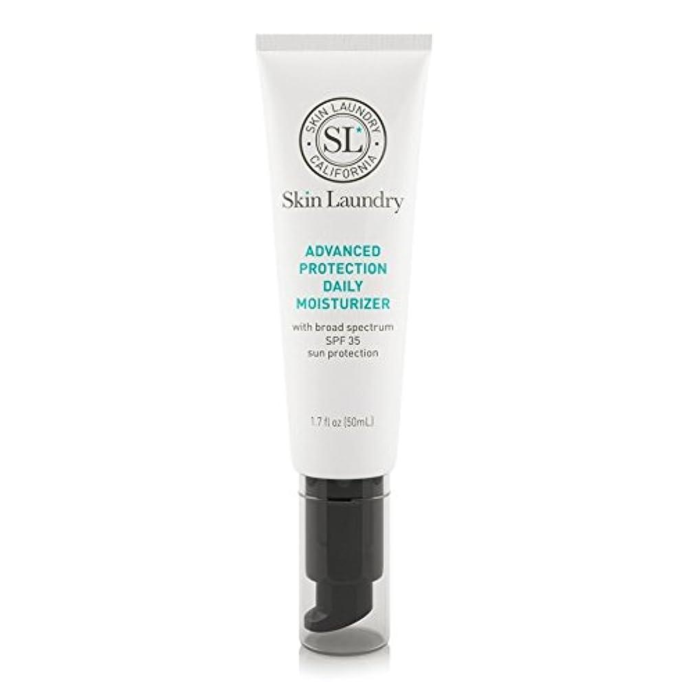 なめらかディーラー取り消す皮膚の洗濯高度な保護毎日保湿50ミリリットル x4 - Skin Laundry Advanced Protection Daily Moisturiser 50ml (Pack of 4) [並行輸入品]