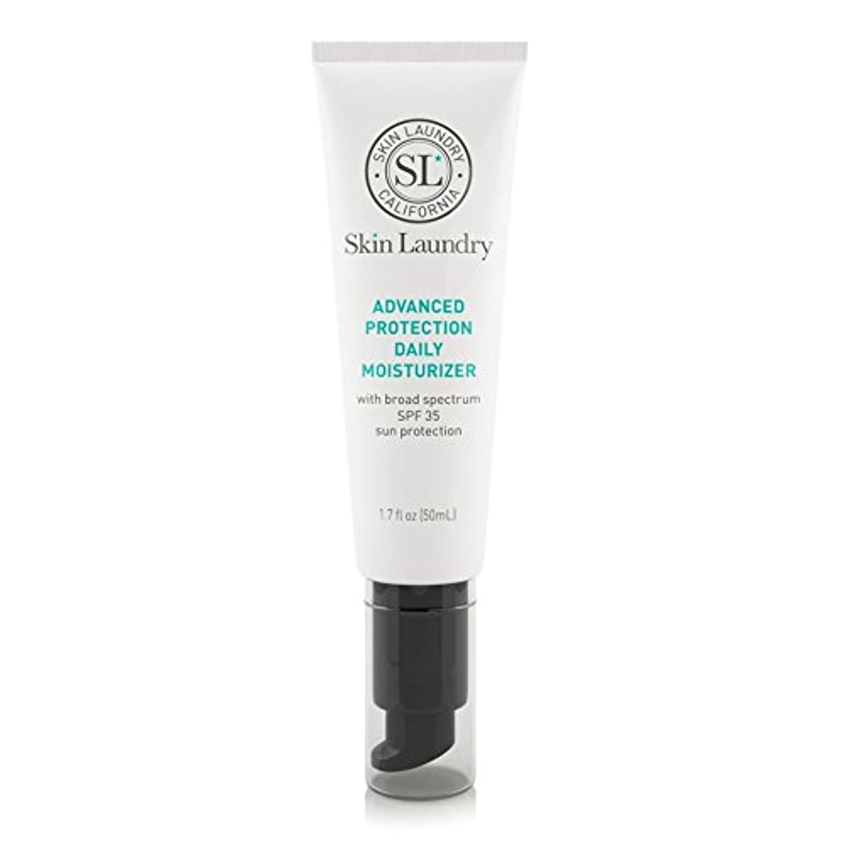 私たち抜粋シルエットSkin Laundry Advanced Protection Daily Moisturiser 50ml - 皮膚の洗濯高度な保護毎日保湿50ミリリットル [並行輸入品]