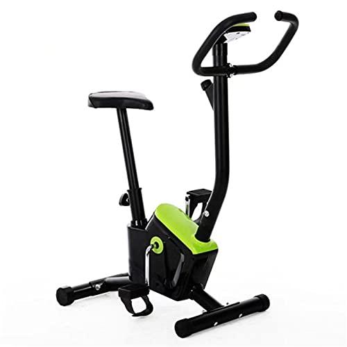 YING Bicicleta Estática para Ejercicios, Entrenamiento Cardiovascular, Bicicleta Estática, con Monitor LCD, Altura del Asiento Ajustable, Bicicleta Magnética para El Hogar, Interior, Oficina