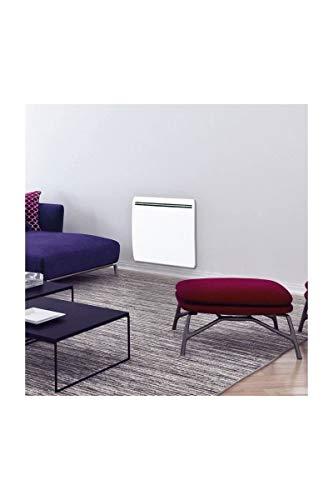 CONCORDE Ecodou 1500 Watts Radiateur électrique a inertie Fonte + Film Chauffant - Entierement programmable LCD - 100% France