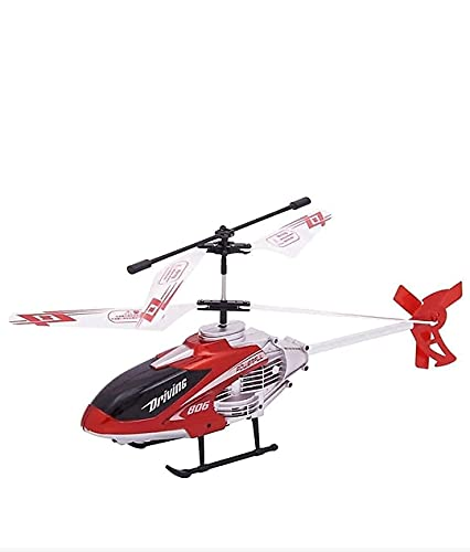 Velocity Remote Control Flying Helicopter with. Unbreakable Blades Infrared Sensors, Chargeable Helicopter Toy for Kids