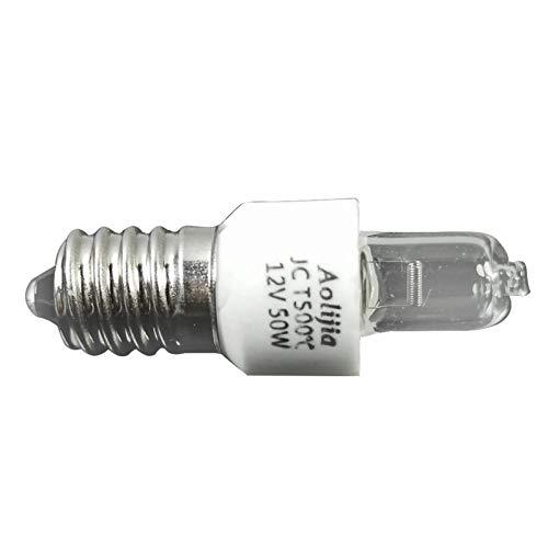 Stronrive Bombillas Halógenas E14 50W para Horno Y Microondas, 2700K Tolerante Al Calor 500 °, para Microondas Y Horno, Lámpara De Sal, Sin Parpadeo
