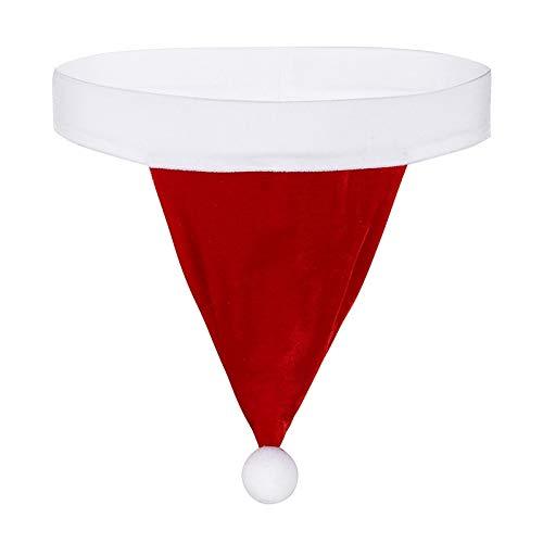 Nieuwigheidskostuums voor heren Men's Underwear Red Kerst Kostuum Santa Hat Velvet Homme G-string Thong Party Fancy Underpants Gift (Color : Red, Size : M)