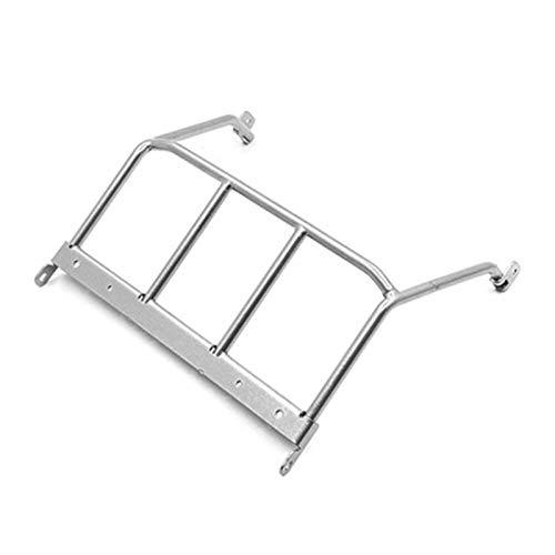 DAPENGNIAO Rear Roll Cage Square Spotlight Suitable for Capo JKMAX Gen.1 & Gen.2 RC Car Parts Accessories Accessories (Color : Silver roll cage)