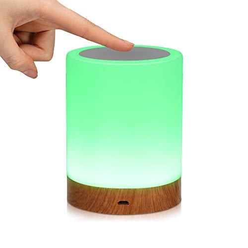 Lampada Notturna LED, Luce Notturna Bambini LED Controllo Tattile Dimmerabile USB...