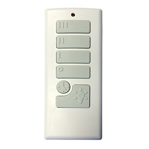 Harbor Breeze 40837 Off-White Handheld Universal Ceiling Fan Remote Control