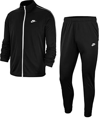 Nike Herren M NSW CE TRK Suit PK Basic Tracksuit, Black/White/(White), 2XL