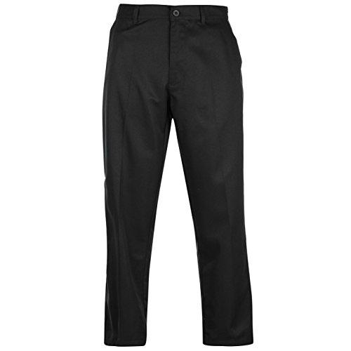 Slazenger Herren Golf Hose Regular Fit Schwarz 36W 29S