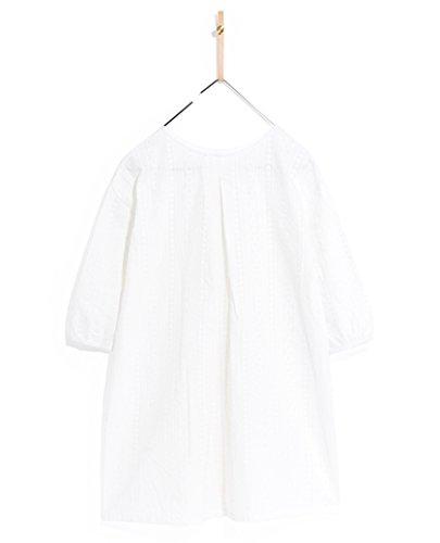 INWAVE Yiigoo Mädchen Weiß Kleider - Height 140