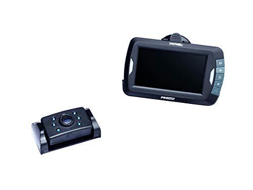 Pro-User DRC4310 16249 20123 Digitales Funk-Rückfahrkamerasystem für 12V & 24V Systeme mit 4.3 Zoll Monitor & Nachtsichtkamera ohne Signalstörungen