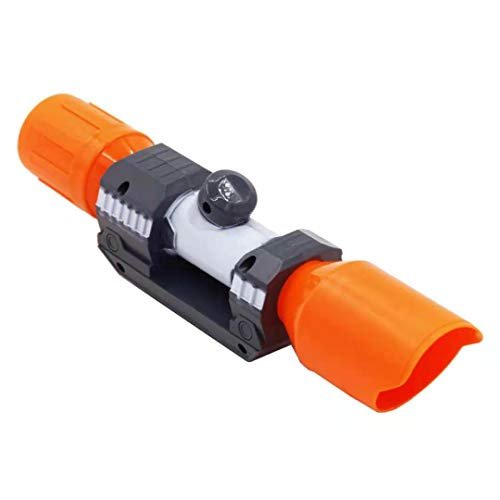 liyingying Plastic Kids Gift Tactical Scope Sight Attachment with Reticle Targeting Accessory for Modify Toy Gun(Orange)