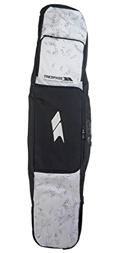 Trespass Tomb Snow Board, Deluxe, Schwarz, Einheitsgröße