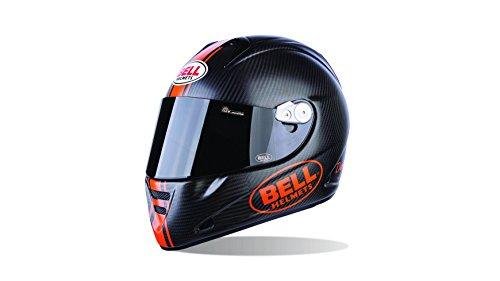 Bell Helmets Street 2015 M5X Carbon Casco Adulto, color Daytona Naranja Mate, talla XL