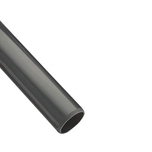 Original EXCOLO PVC Rohr und Rohrverbinder Ø63mm Winkel, Kniestück, Muffen, T-Stück, Kappen Fittings (1m Rohr-Stück 63mm)