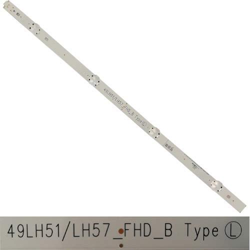 4 LEDs 49LH51/LH57_FHD_B, LG 49LH590V