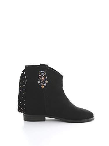 Luxury Fashion | Alma En Pena Mujer I19227BLACK Negro Botines | Otoño-Invierno 19